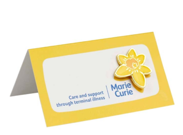marie curie wedding favour